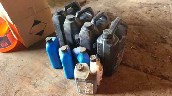 Lot - misc motor oil