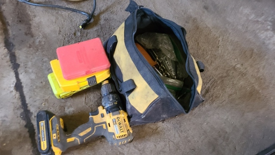 Dewalt Drill and Accessories