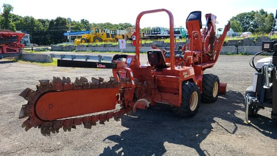Ditch Witch 5700dd Trencher With Backhoe