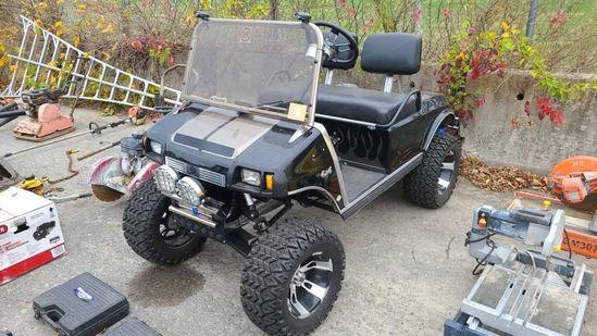 Club Car Custom Golf Cart