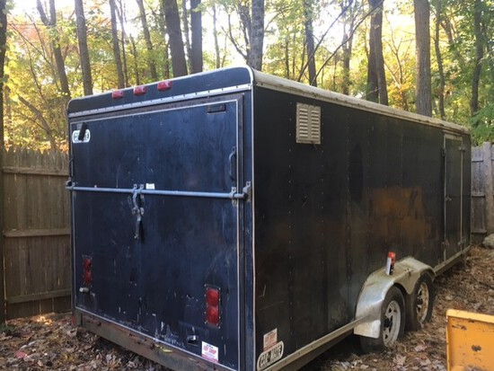 2002 Carmate Enclosed Trailer
