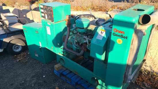 Onan 35g natural gas genset with switch
