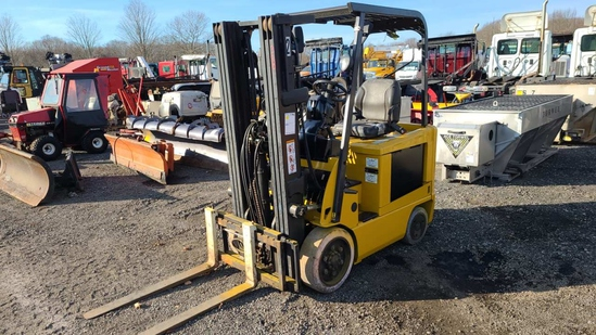 Cat fbc25n electric forklift