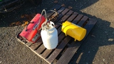 Lot reddy heate4, clamp, tanks, etc