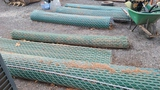 (7) rolls chain link fence