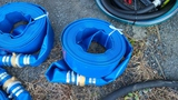 2x50 ft discharge hose