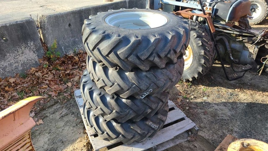 4x 10.5-80 tires and rims