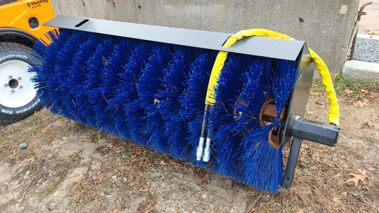 """72"""" Hydraulic Broom"""