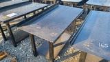 HD Shop Table with Shelf
