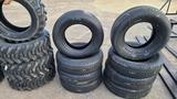 (4) 205 75 16 tires