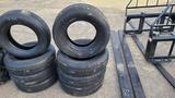 (4) 225 75 15 tires