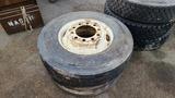 (2) 22.5 tires