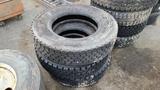 (3) 24.5 Tires