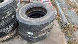 (3) 22.5 Tires