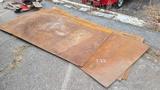 (4) Steel Plates