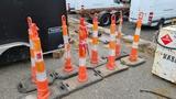 (8) Road Cones