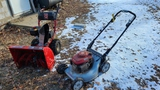 Snow blower and Lawn Mower