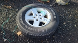 (1) 225 75 17 tire and rim