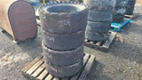 (4) skidsteer tires and rims