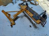 County Line 6' Hitch Rake with Wheel Kit