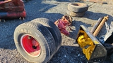 Axle with (4) Tires