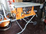 Dewalt Table saw with folding stand