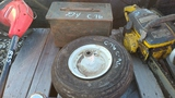 Ammo Box and Tire