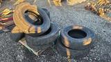 (8) 235/80/17 tires