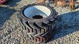 (2) Skidsteer Tires