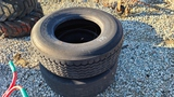 (2) 385 65 22.5 tires