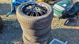 (4) 22 Inch tires and rims