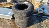 (4) 235 85 16 tires