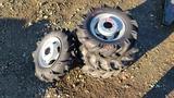 (4) 4 lug atv tires and rims