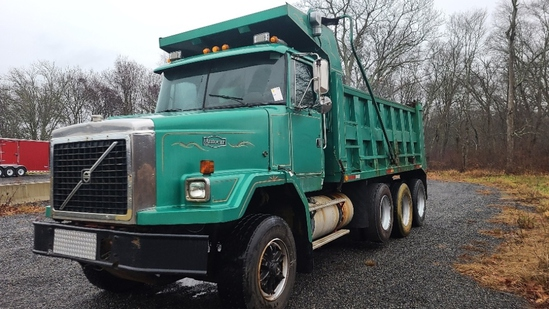 1988 Volvo Triaxle Dump Truck