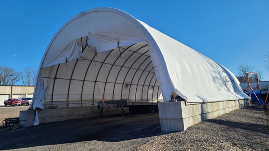 60 ft canvis shelter