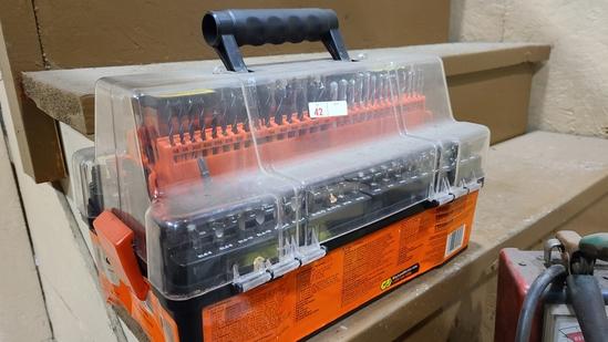 Black n decker 153 pc accessory kit