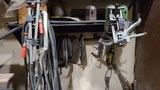 Lot welding clamps, c clamps, accessories