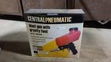 Central pnuematic sand blaster