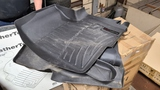 Weather tech and dealer floor mats for f250