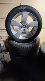 (4) bmw 225 50 17 tires and rims
