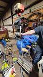 Gas power broom