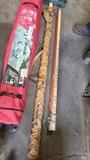 (2) measuring sticks