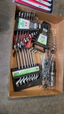 Lot - assorted wrench sets