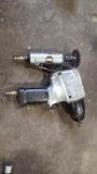 Husky impact wrench and angle grinder