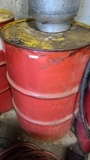Drum of tool oil