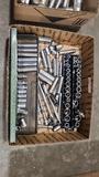 Lot - assorted sockets
