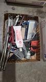 Lot - hex keys, assorted tools