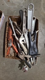 Lot - assorted pliers, vice grips
