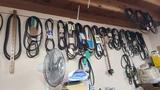 Wall lot - assorted belts