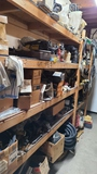 Wall lot - assorted hydraulic valves, air system